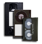 video tapes to DVD, or Blu-ray Disc, or Data Files. File formats such as MP4, AVI, MOV and Apple ProRes 422